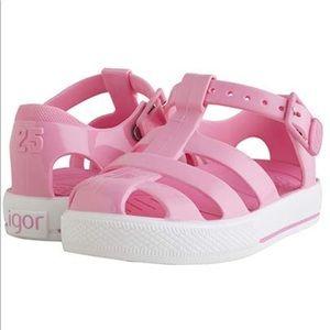 IGOR Pink Outdoor Sandals